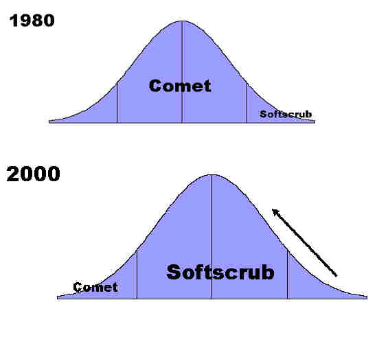 business model for Softscrub